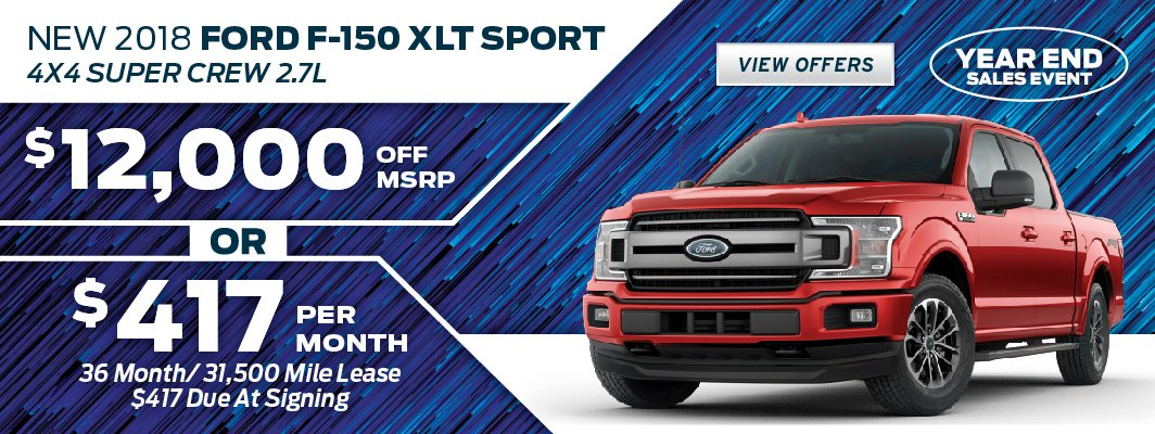 Save on the 2018 Ford F-150