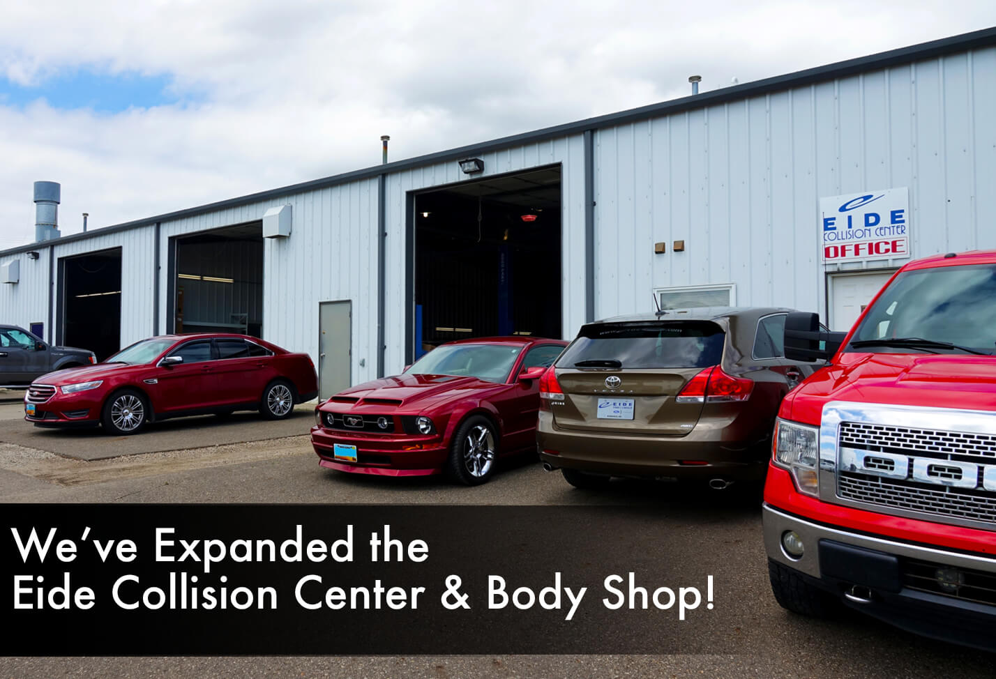 Eide Collision Center in Bismarck