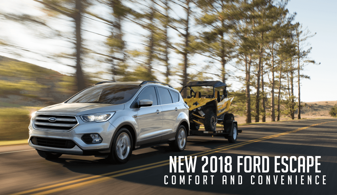The Comfort and Convenience of the new Ford Escape in Bismarck