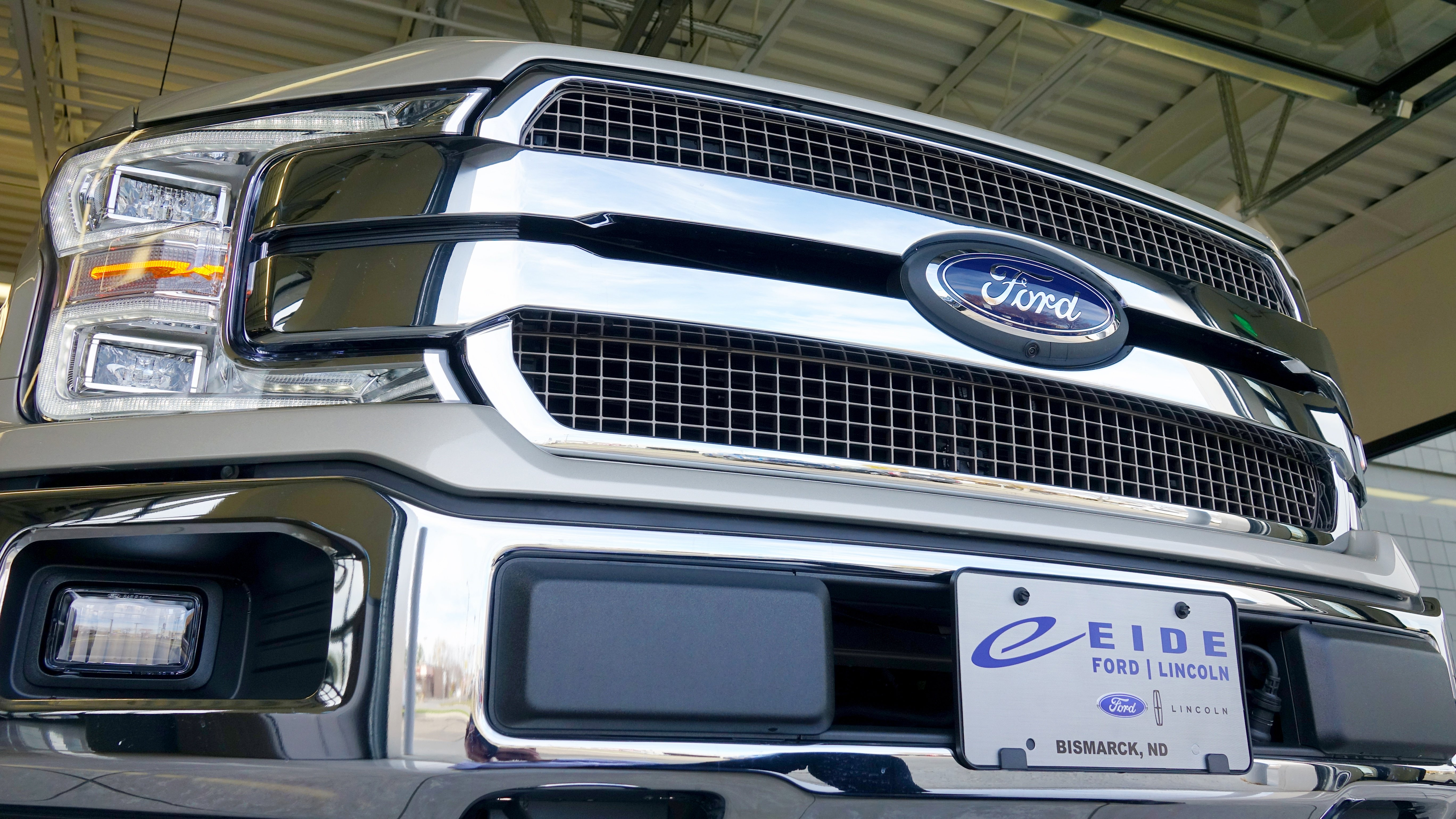 2018 F-150 Front Grille in Bismarck