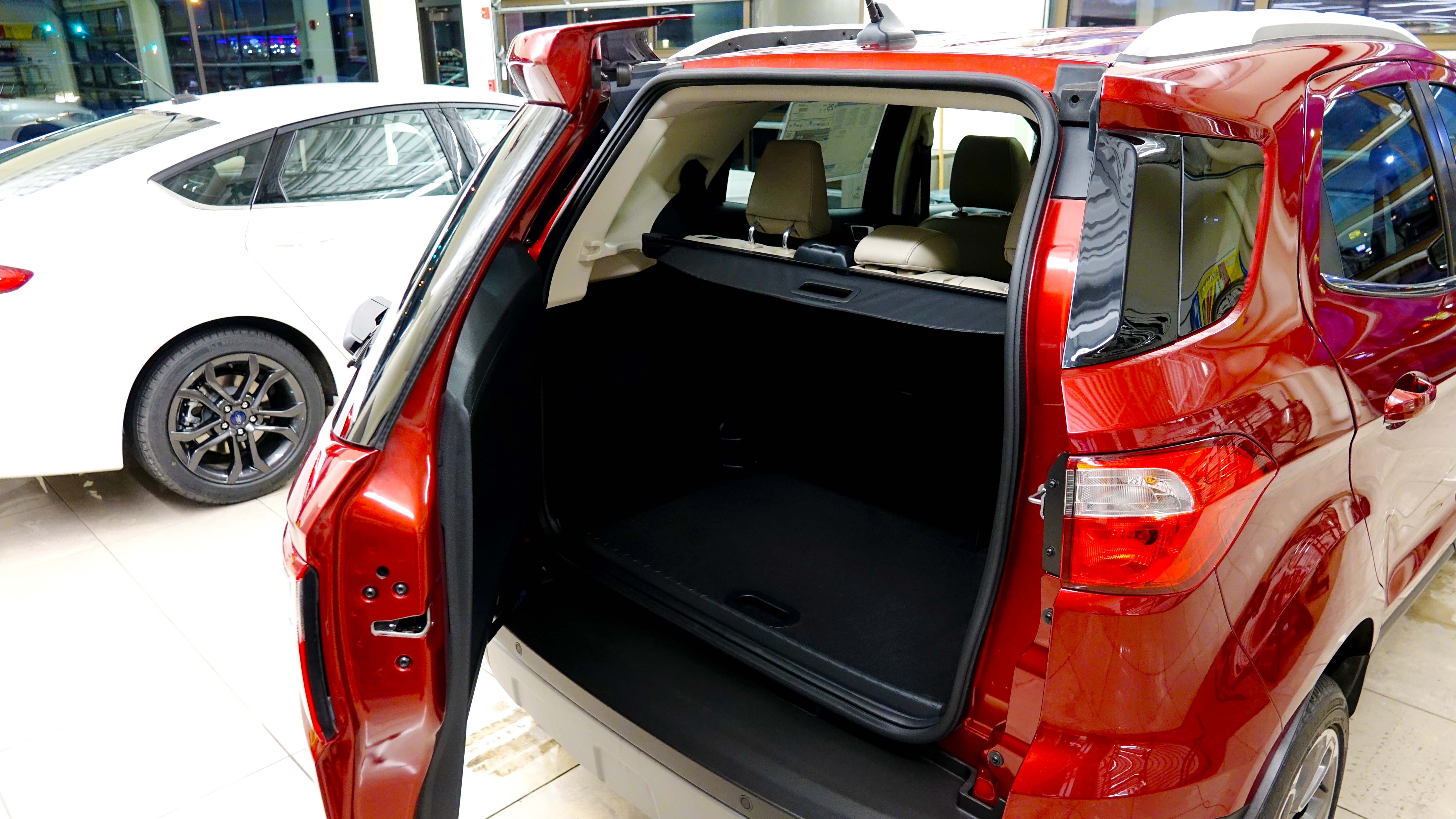 Have you ever seen a rear hatch like this?