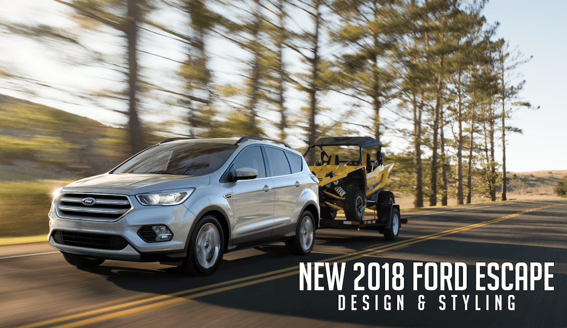 The new 2018 Ford Escape in Bismarck.