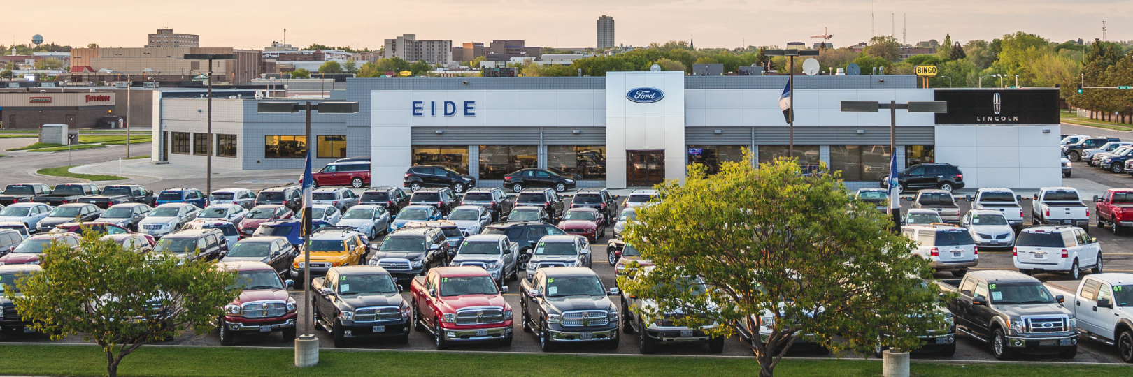 Employee of the Month at Eide Ford