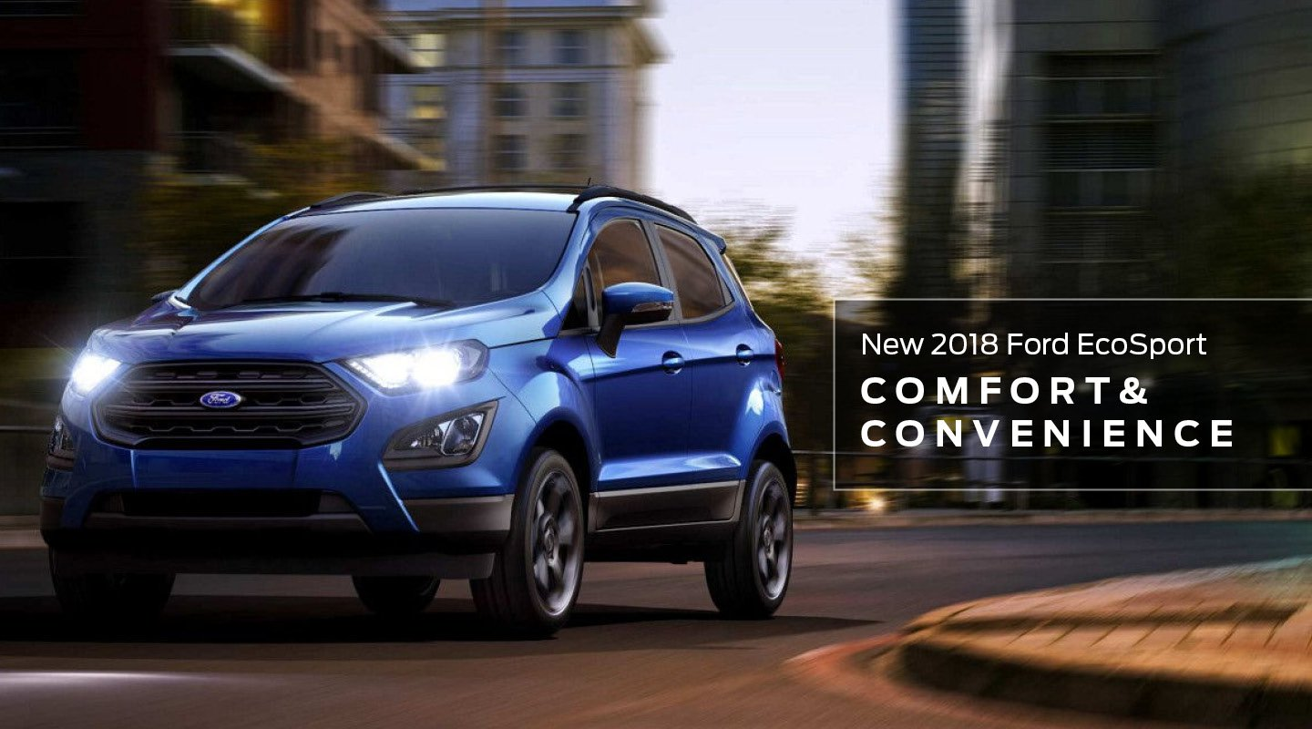 EcoSport Comfort and Convenience