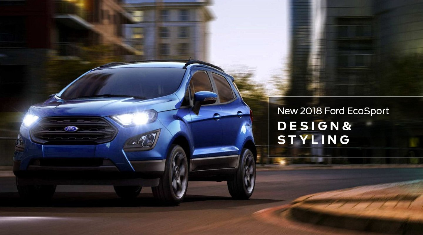 EcoSport Design and Styling