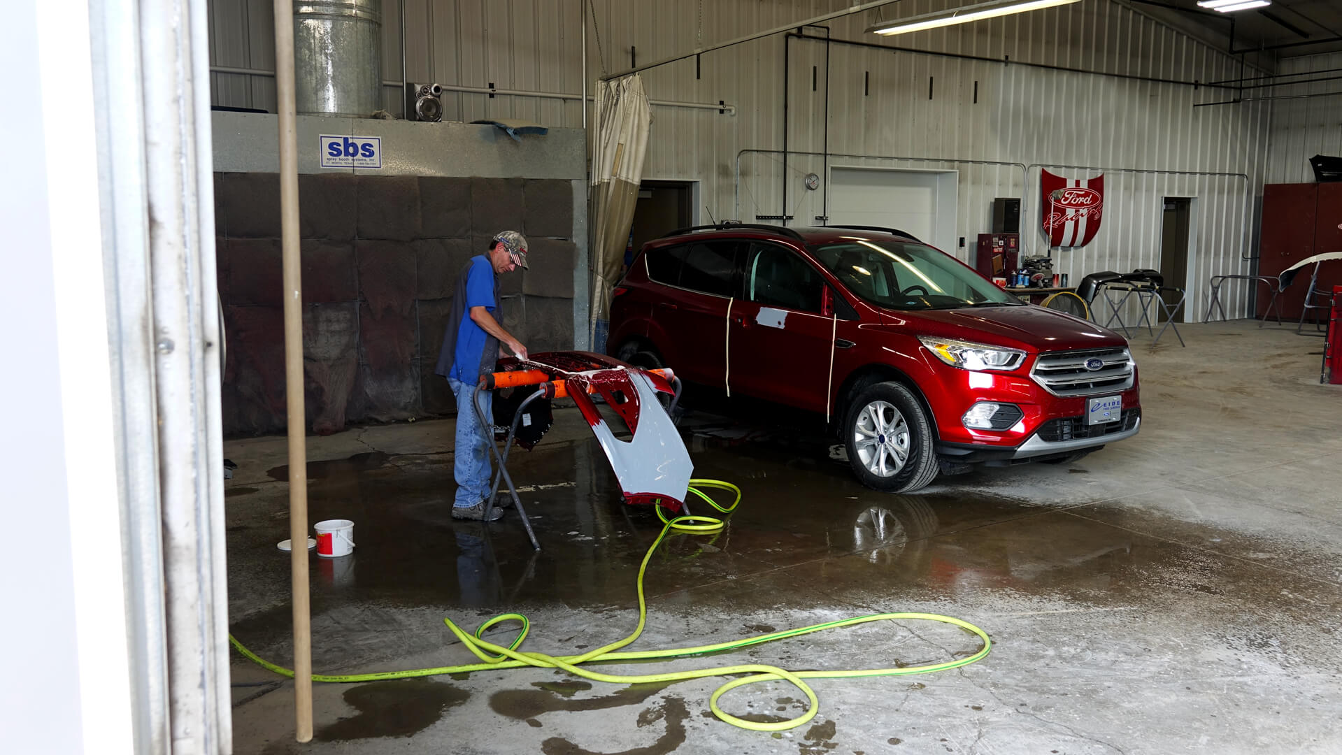 Eide Ford body shop expansion