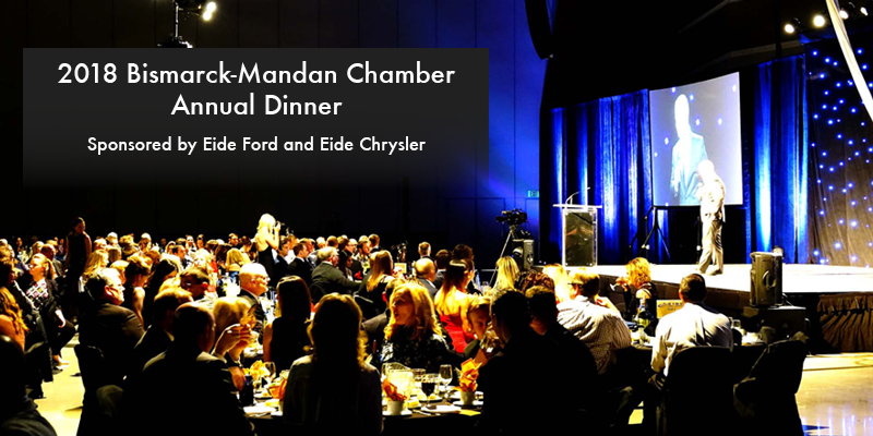 Eide Ford and Eide Chrysler, Bismarck-Mandan Chamber Annual Dinner Sponsors