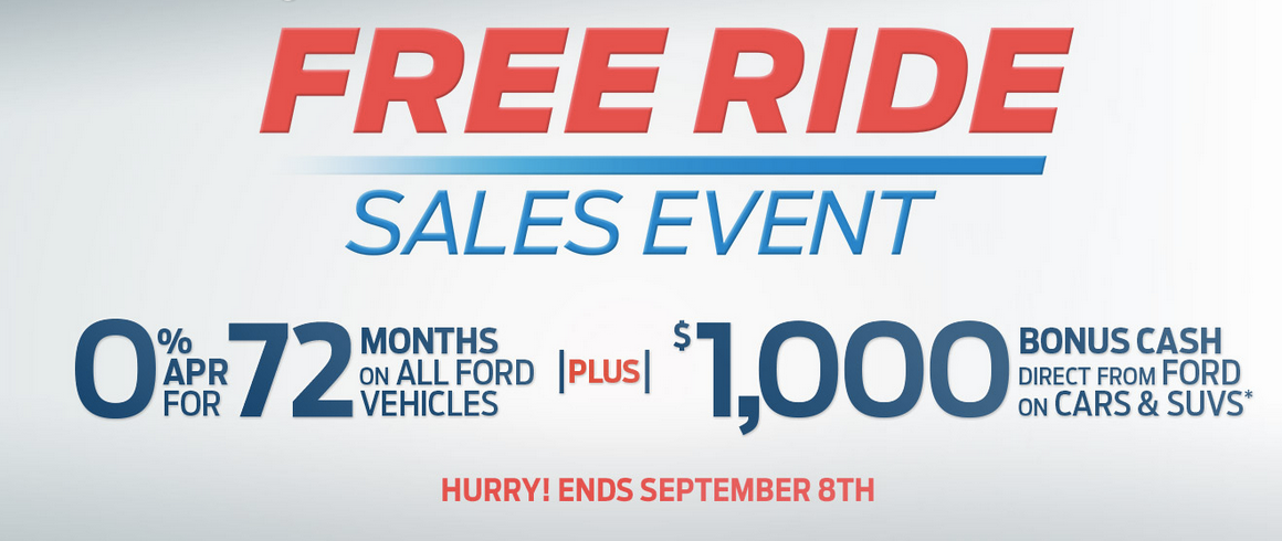 Ford-Free-Ride-Sales-Event
