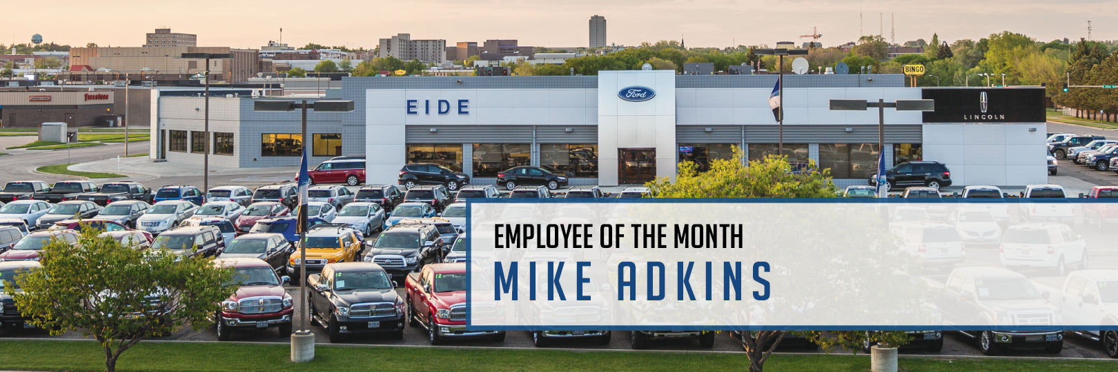 Mike Adkins Employee of the Month