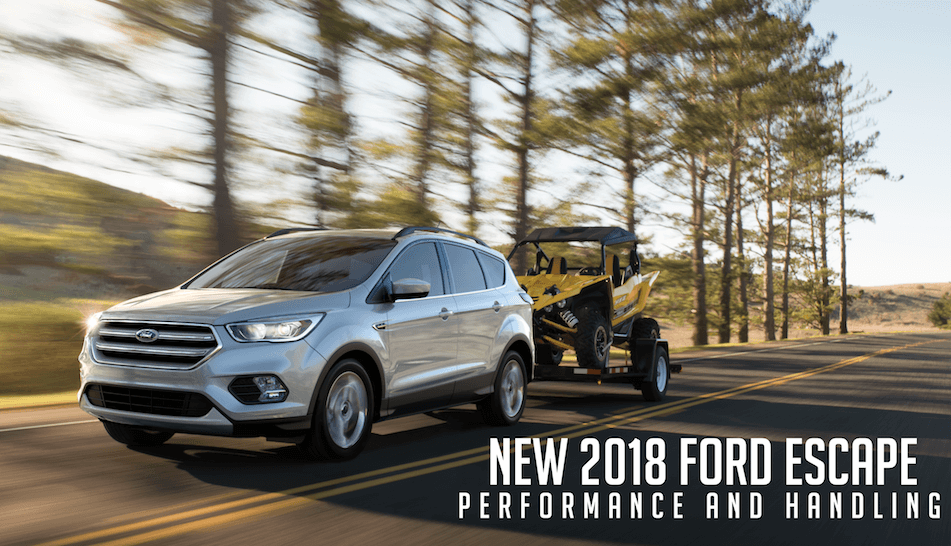 2018 Ford Escape Performance and Handling in Bismarck