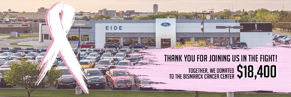 Eide Ford Raises Money for Bismarck Cancer Center