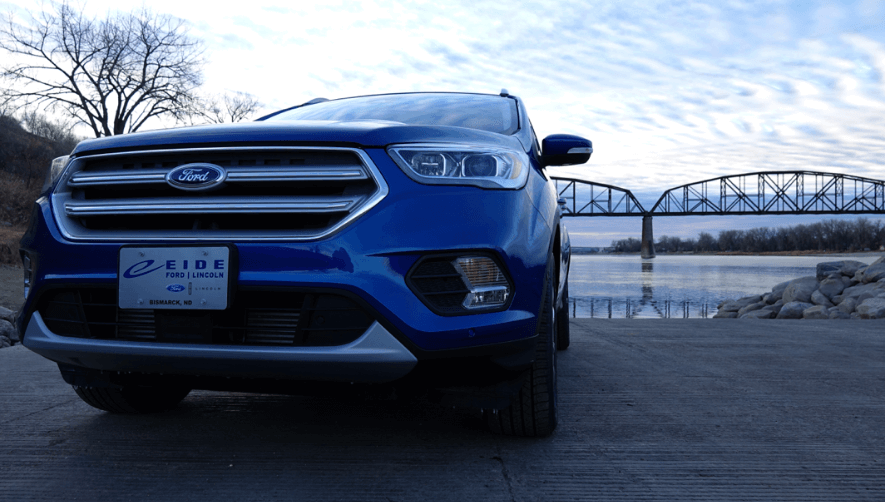 The 2018 Ford Escape in Bismarck