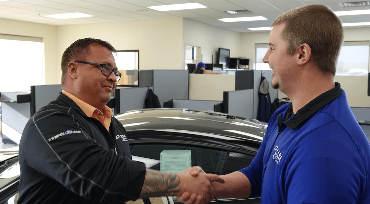 Jason Bjorndahl at Eide Ford