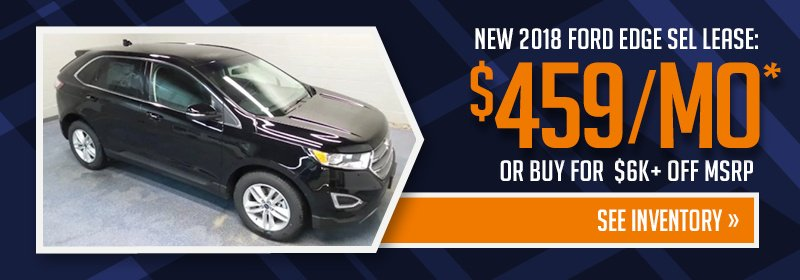 Lease a Ford Edge in Bismarck