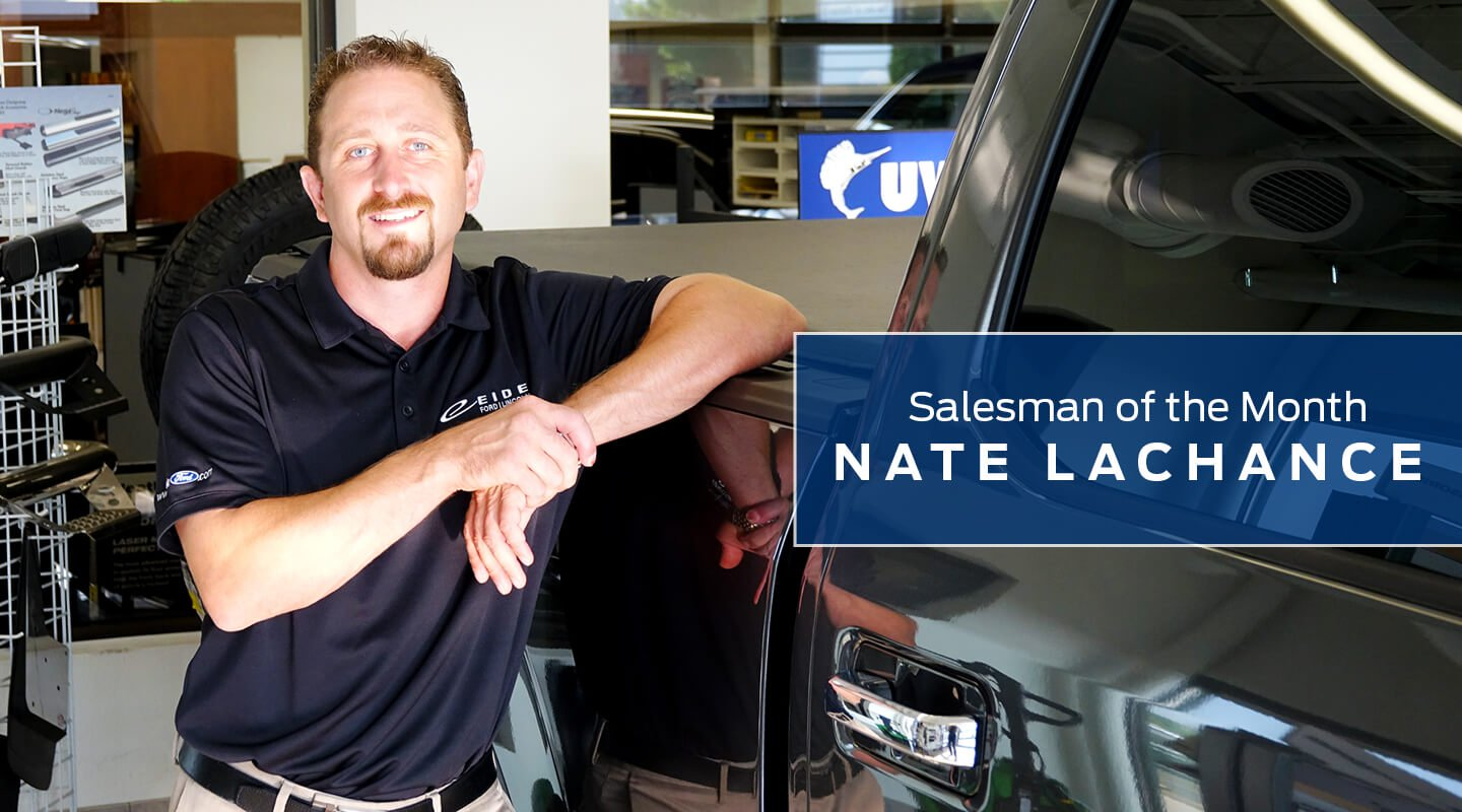 Nate LaChance at Eide Ford