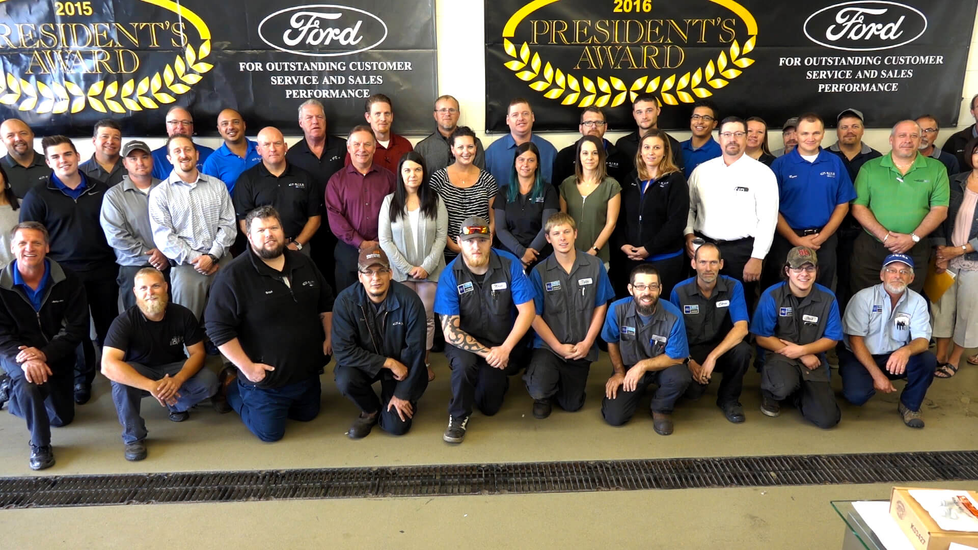 The Eide Ford team in Bismarck