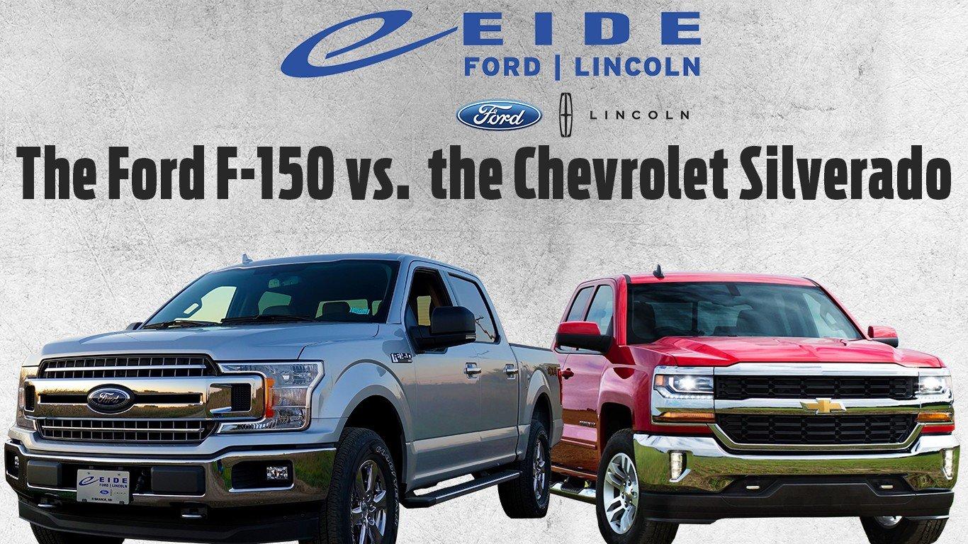 Ford F-150 vs. Chevy Silverado