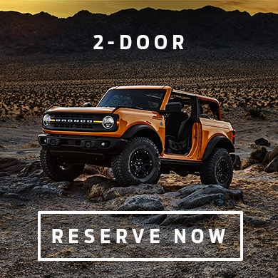 2-Door 2021 Ford Bronco at Eide Ford