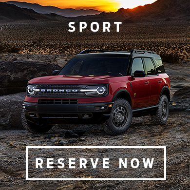 Reserve your 2021 Ford Bronco Sport at Eide Ford