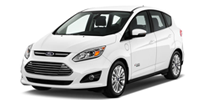 white ford cmax energi hatchback