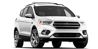 white ford escape suv
