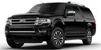 black ford expedition el suv