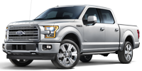 silver ford f150 truck