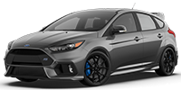 silver ford focus rs hatchback
