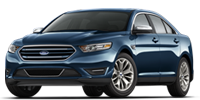 blue ford taurus sedan