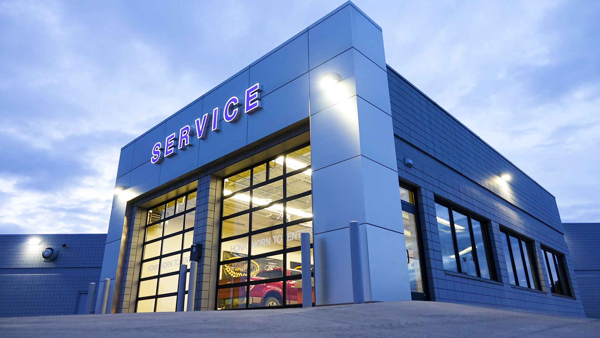 eide ford service department
