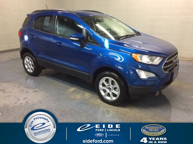 Lease This 2018 Blue Ford Ecosport Se