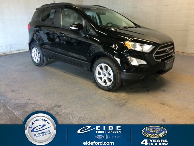 Lease this 2019, Black, Ford, EcoSport, SE