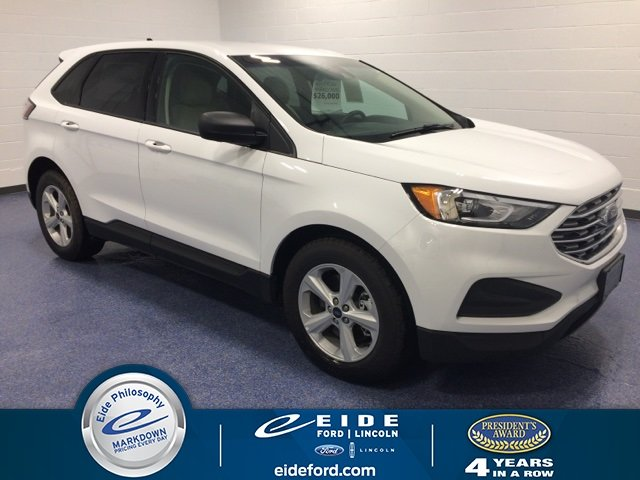 Lease this 2019, White, Ford, Edge, SE