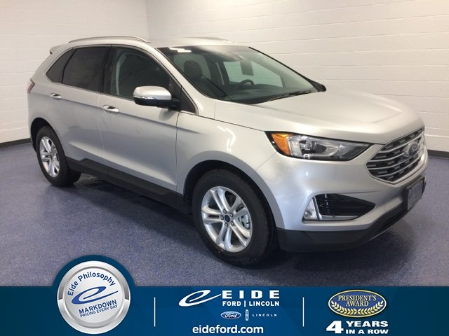 Lease this 2019, Silver, Ford, Edge, SEL