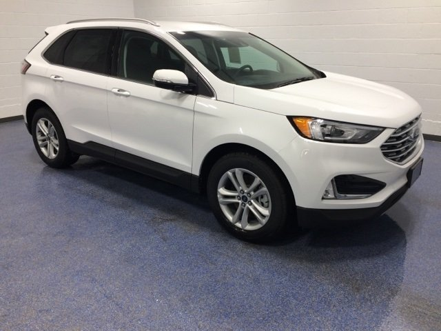 Lease this 2019, White, Ford, Edge, SEL