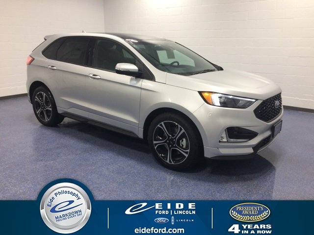 Lease this 2019, Silver, Ford, Edge, ST