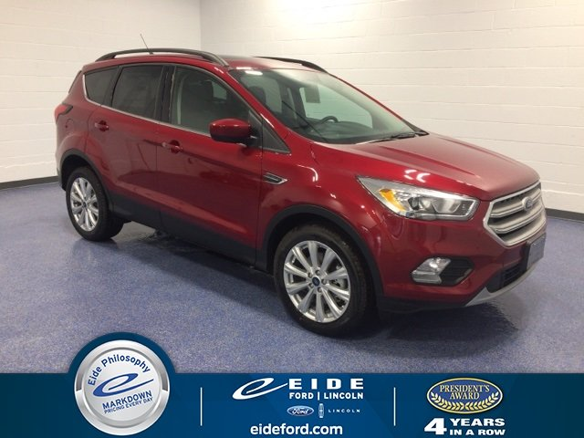 Lease this 2019, Red, Ford, Escape, SEL