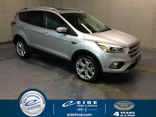 Lease this 2019, Silver, Ford, Escape, Titanium