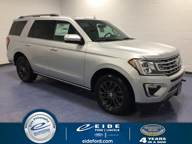 Lease this 2019, Silver, Ford, Expedition, Limited