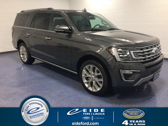 Lease this 2019, Gray, Ford, Expedition Max, Limited