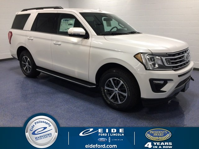 Lease this 2019, White, Ford, Expedition, XLT