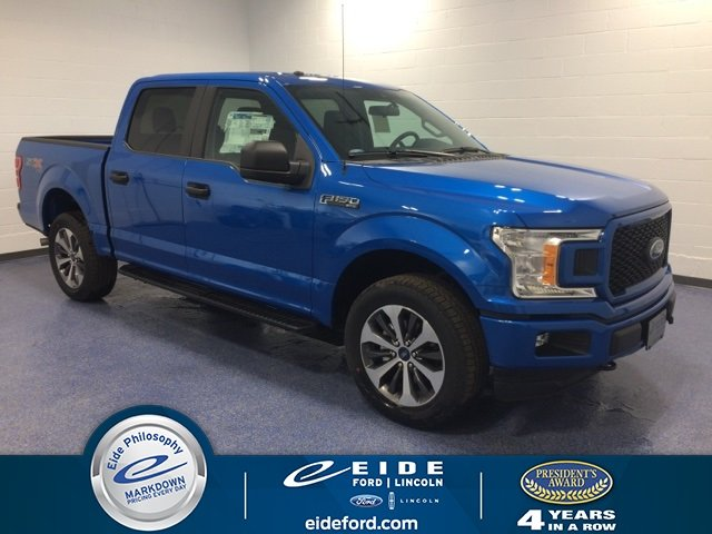 Lease this 2019, Blue, Ford, F-150, XL