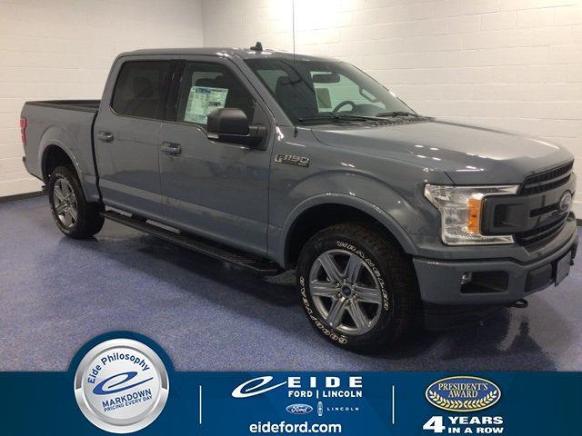 Lease this 2019, Gray, Ford, F-150, XLT