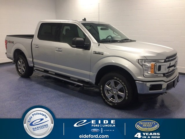 Lease this 2019, Silver, Ford, F-150, XLT