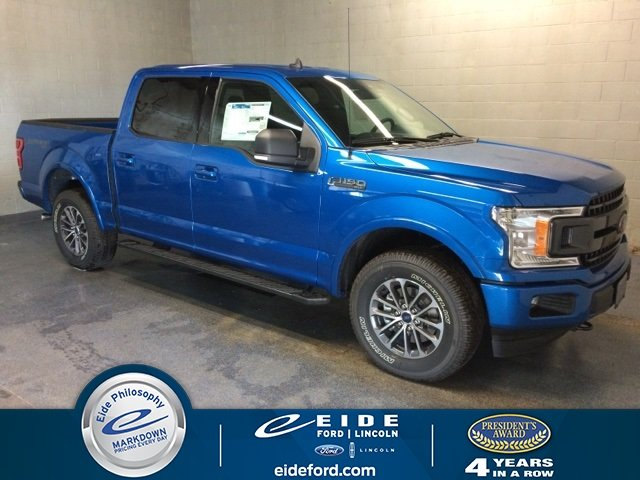 Lease this 2019, Blue, Ford, F-150, XLT