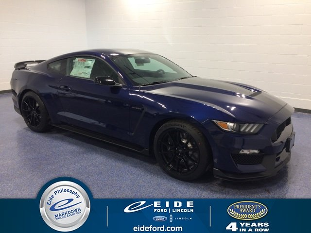 Lease this 2019, Blue, Ford, Mustang, Shelby GT350