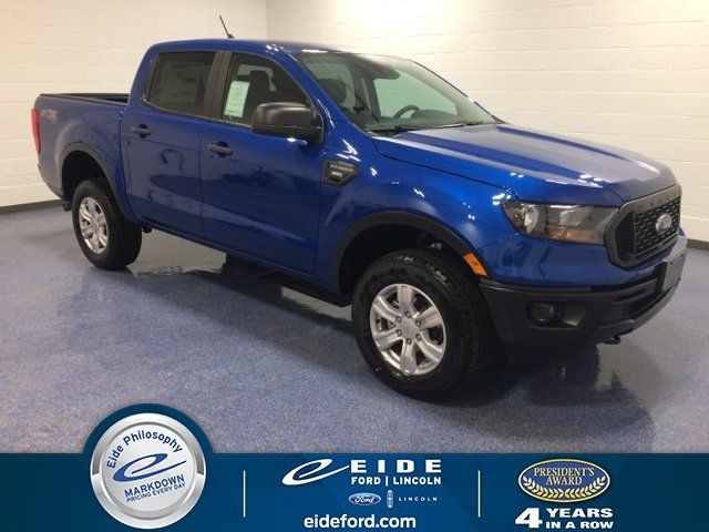 Lease this 2019, Blue, Ford, Ranger, XL
