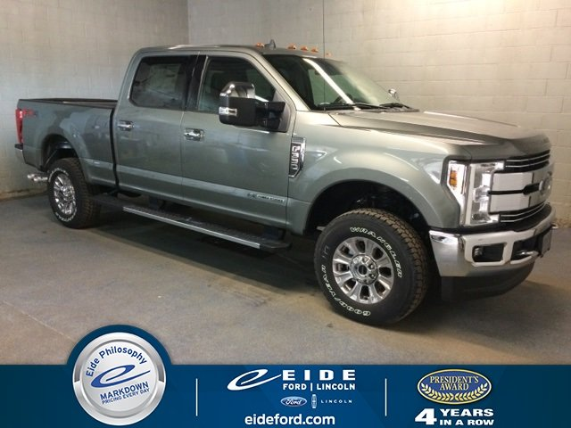 Lease this 2019, Silver, Ford, Super Duty F-350, SRW Lariat