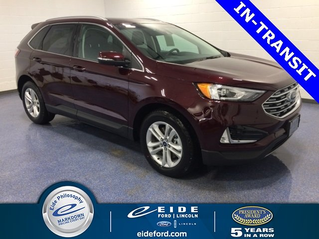Lease this 2020, Red, Ford, Edge, SEL