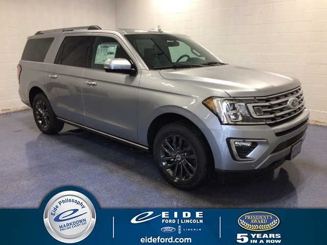 Lease this 2020, Silver, Ford, Expedition Max, Limited